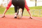 Biegacz — Zdjęcie stockowe