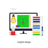 Graphic design — Stock Vector