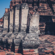 Ancient ruins of temple in Thailand — Stock Photo #64308903