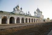 Church  Cathedral Rostov  Great Russia — Stock Photo