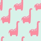 有趣的恐龙 — 图库矢量图片