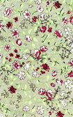 Rose Fabric background, Fragment of colorful retro tapestry text — Stockfoto