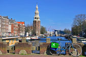 Waterfront in Amsterdam — Stock Photo