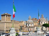 Čtverec Benátky, Řím, Itálie — Stock fotografie