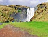 Skogafoss, Iceland — Stock Photo