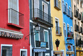 Colorful houses of Cuenca, Spain — Stock Photo