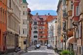 Bolzano street, Italy — Stockfoto