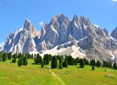Mountain peaks in Alps — Stock Photo