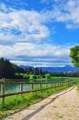 Mountain lake in Italy — Stock Photo