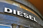 Diesel fashion brand logo — ストック写真