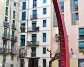 Barcelona old town — Stock Photo