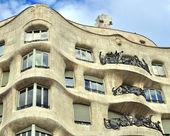 Casa mila, barcelona — Stockfoto