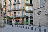 Barcelona old town, the Born quarter — Stock Photo