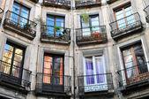 Hus windows — Stockfoto
