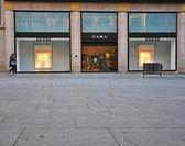 Zara store, Barcelona  — Stock Photo