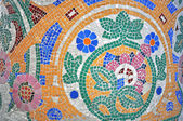 Mosaic pattern by Gaudi  — 图库照片