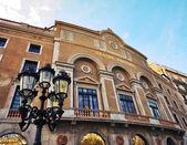 Principal theatre, Rambla street, Barcelona — Φωτογραφία Αρχείου