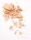 Face powder — Stock Photo