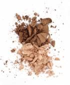 Brown eyeshadow — Stock Photo