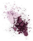 Violet eyeshadow — Stock Photo