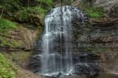 Great amazing gorgeous Niagara escarpment water fall view — Stock Photo