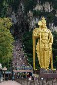 God of War statue of Skanda, Hindu Temple Batu Caves Cave in Kuala Lumpur, Malaysia — ストック写真