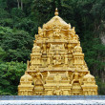 The roof of a Hindu temple, near the entrance to the sacred Batu Caves in Kuala Lumpur, Malaysia — Stock Photo #53961907