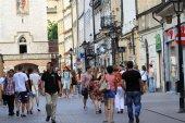 Città vecchia di cracovia in polonia — Foto Stock