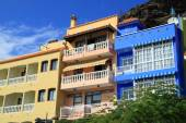Hotels and guesthouses — Stock Photo