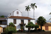 Canarian houses — Stock Photo