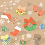 Постер, плакат: Christmas Pattern
