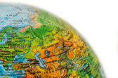 Some Ware on World Map — Stock Photo