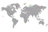 World of dots — Stockfoto