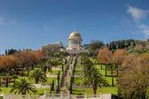 Bahai temple and gardens in Haifa — ストック写真