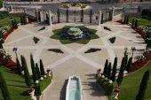 Bahai temple and gardens in Haifa — Foto de Stock