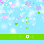 Vector background. Valentine Day — Stockvektor