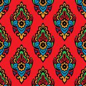 Festlig sömlös blommig vektor mönster — Stockvektor