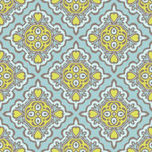 Seamless abstract tiled pattern vector — Stock Vector