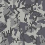 Постер, плакат: Gray camouflage pattern