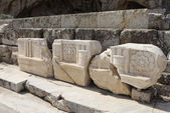 低いプロピライア、古代エレウシスの遺跡 — ストック写真