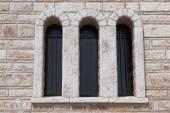 Window in the Monastery of St. Patapios — Stock Photo