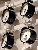 Hanging Alarm Clock — ストック写真