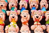 Thai Handmade Funny Dolls — Stock Photo