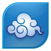 Cloud icon — Stock Vector