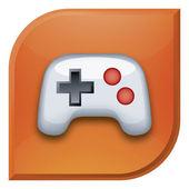Games icon — Stock Vector