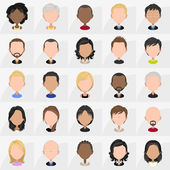 Icons of People — Stock vektor