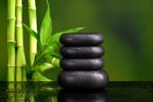 Basalt stones for spa — Stock Photo