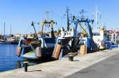 Fishing trawlers — Stock Photo