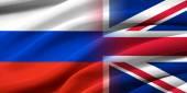 Great Britan and Russia. — Stock fotografie