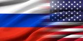 美国和俄罗斯. — 图库照片